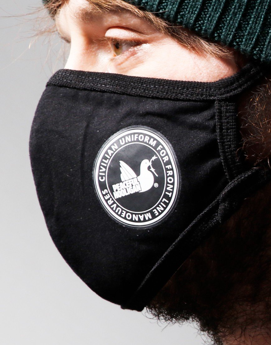 Peaceful Hooligan Mask Black