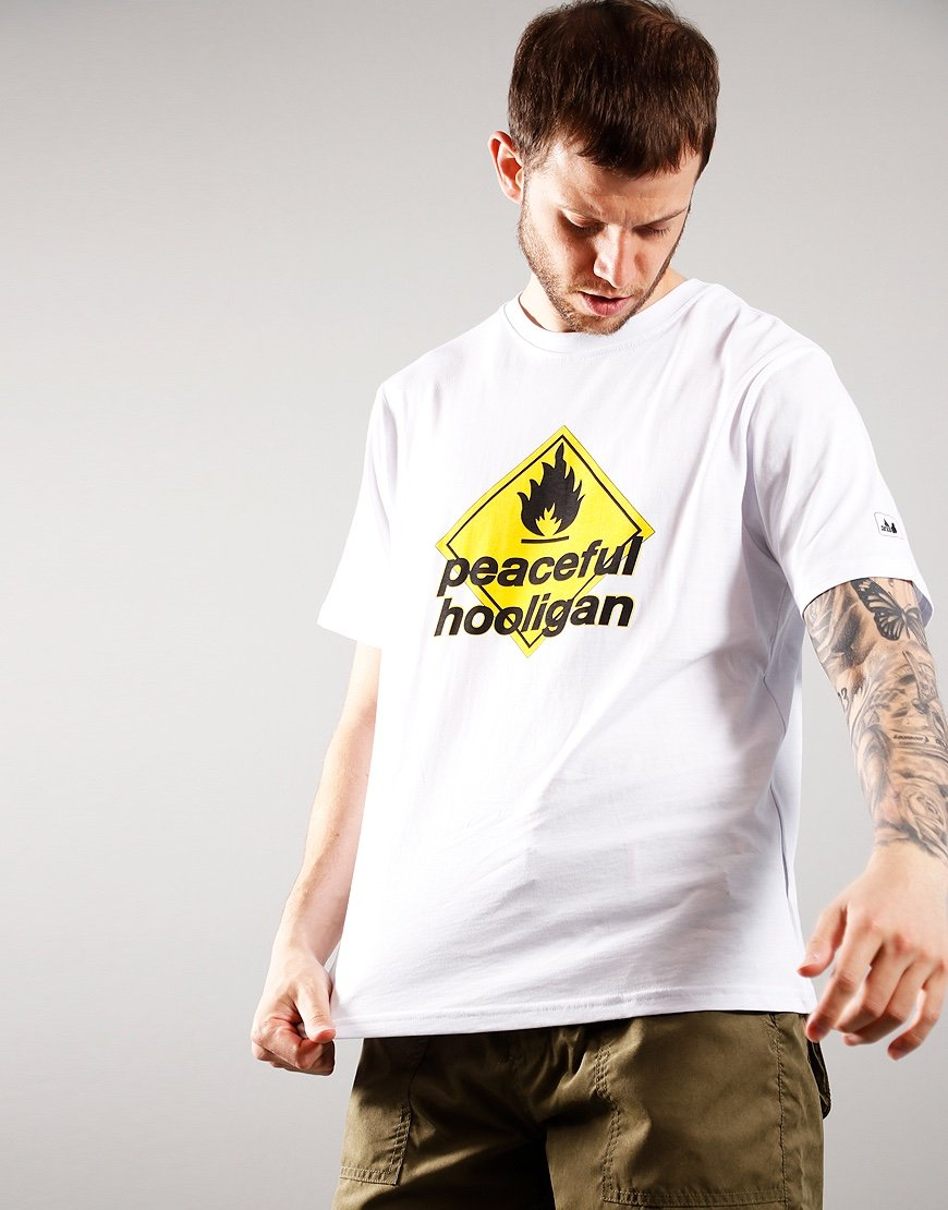 Peaceful Hooligan Massive T-Shirt White