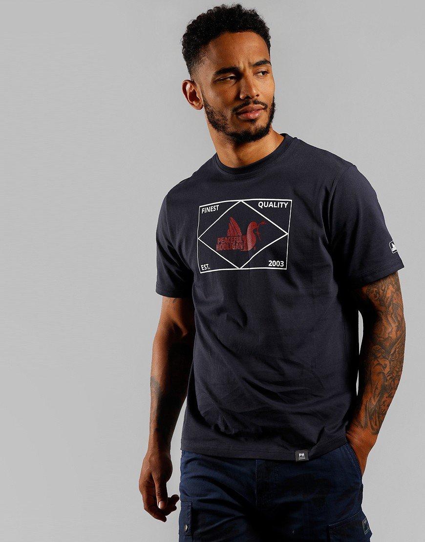 Peaceful Hooligan Match T-Shirt Navy