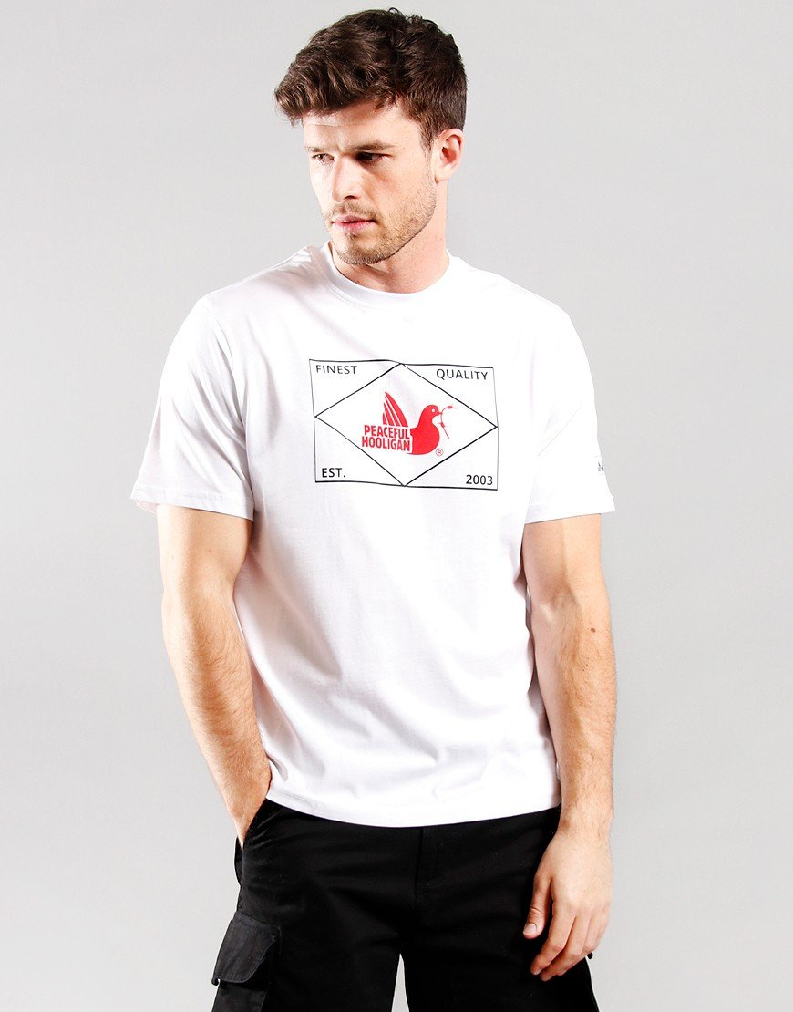 Peaceful Hooligan Match T-Shirt White