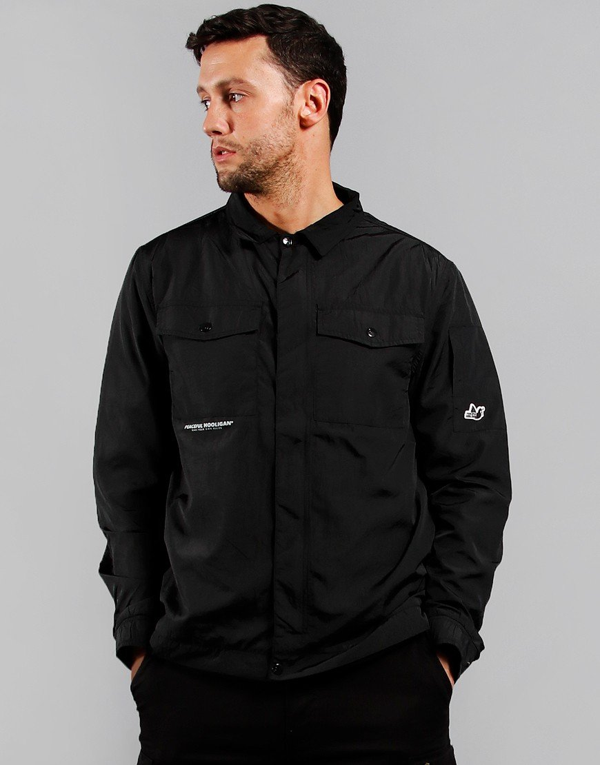 Peaceful Hooligan Maxim Overshirt Black