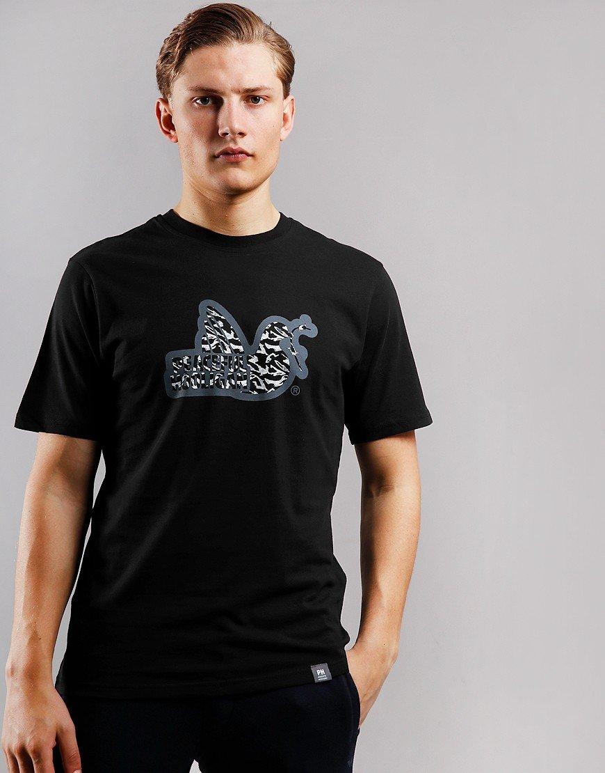 Peaceful Hooligan Midnight Dove T-Shirt Black