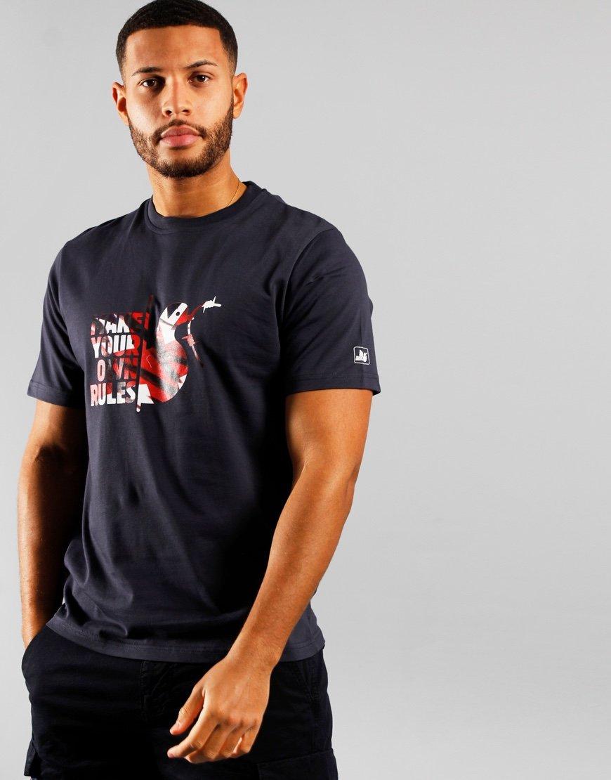 Peaceful Hooligan MYOR T-shirt Navy