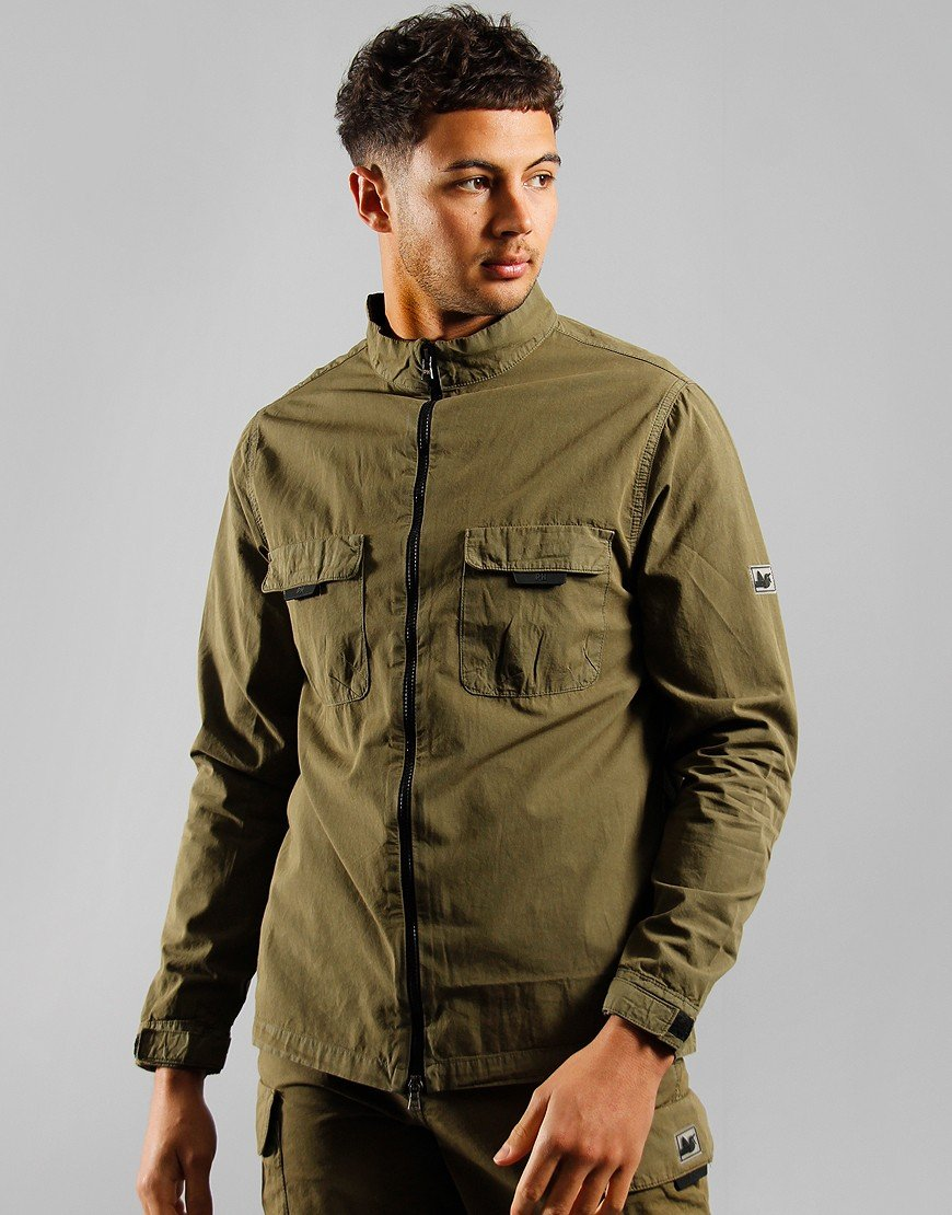 Peaceful Hooligan Oliver Jacket Olive