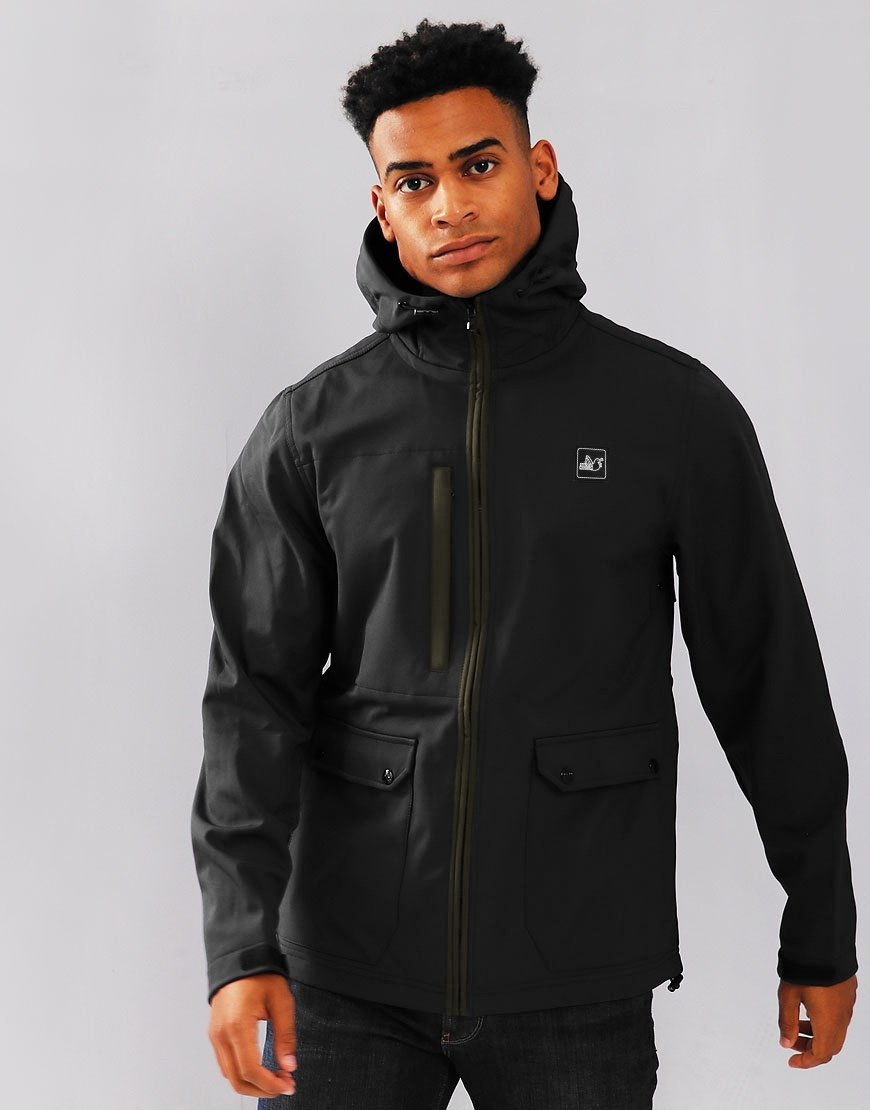 Peaceful Hooligan Skyline Jacket Black
