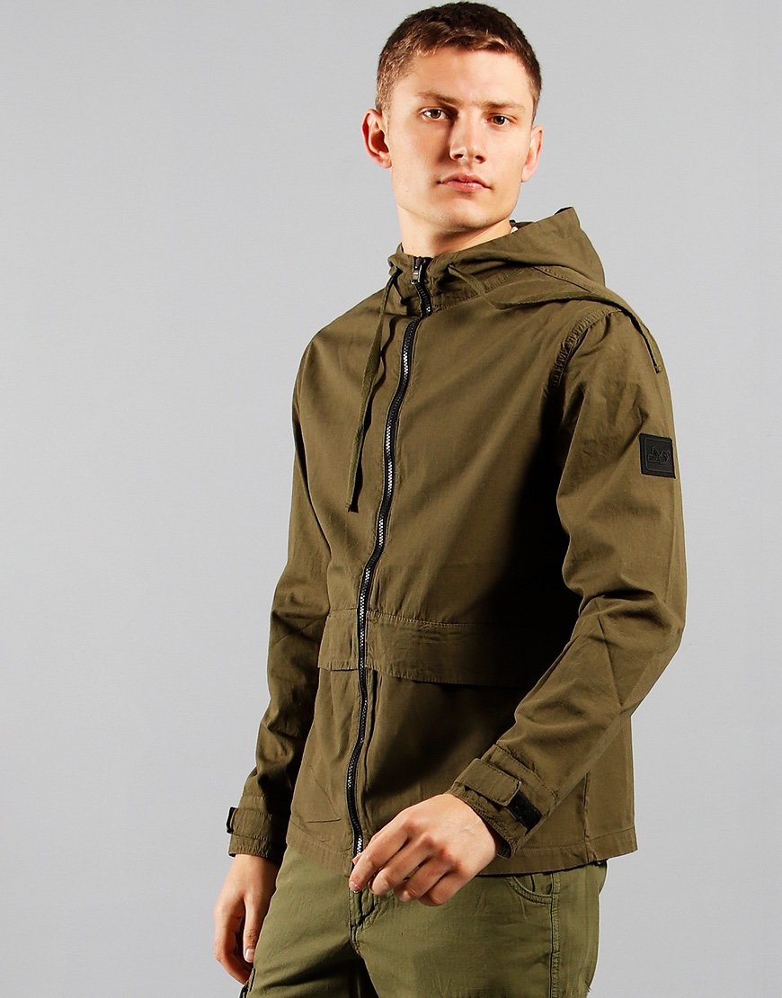 Peaceful Hooligan Tracker Jacket Olive