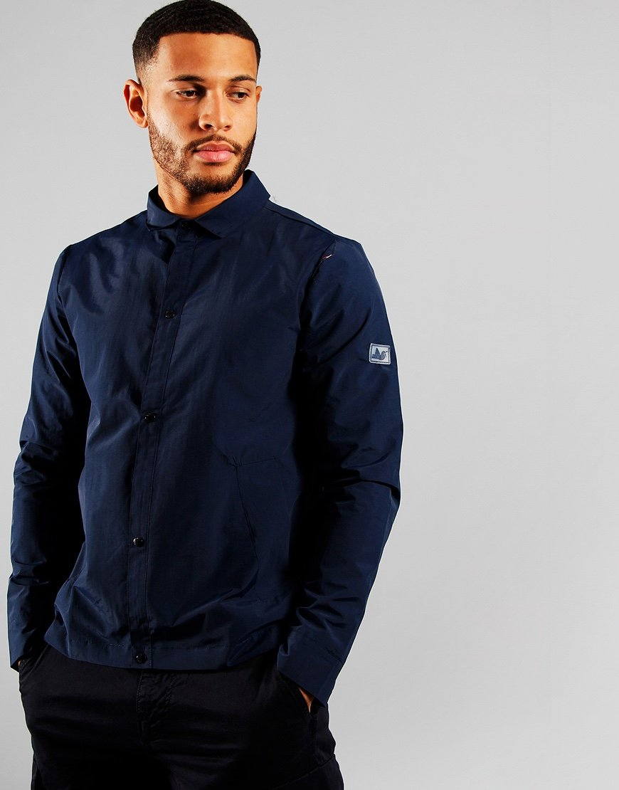 Peaceful Hooligan Williams Overshirt Navy