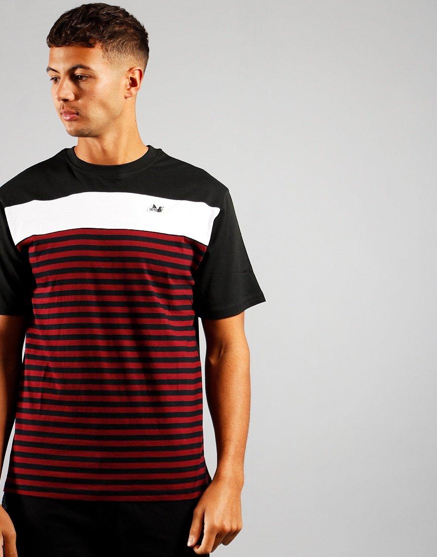 Peaceful Hooligan Wooster T-Shirt Black/Zinfandel