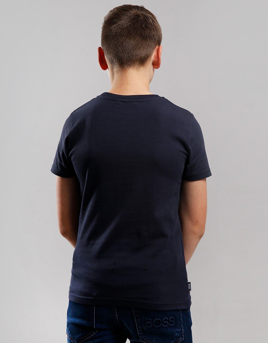 Peaceful Hooligan Junior Tridove T-Shirt Navy