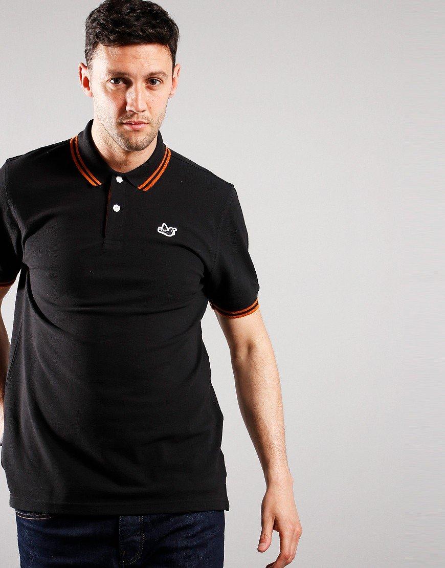 Peaceful Hooligan Matchplay Polo Shirt Black
