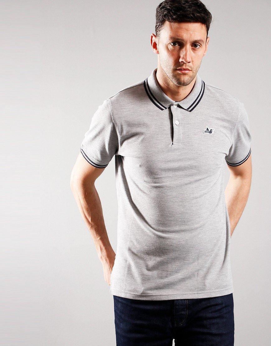 Peaceful Hooligan Matchplay Polo Shirt Grey