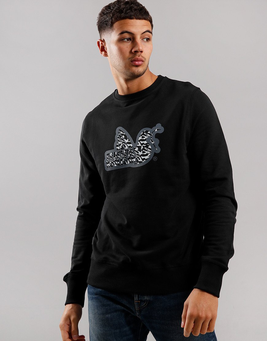 Peaceful Hooligan Midnight Dove Sweat Black