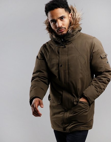 Peaceful Hooligan Montana Parka Cypress