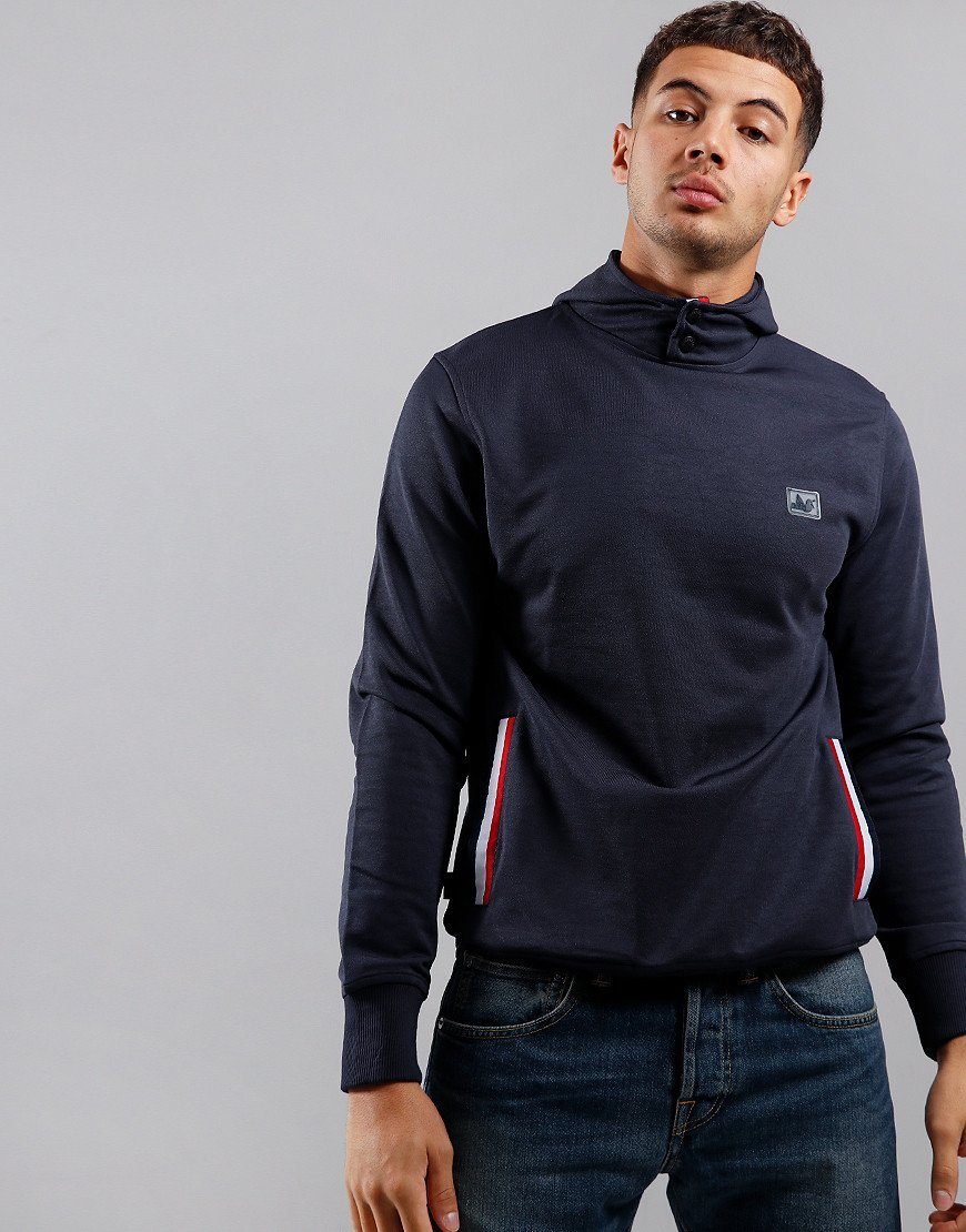 Peaceful Hooligan Pedigree Hoodie Navy