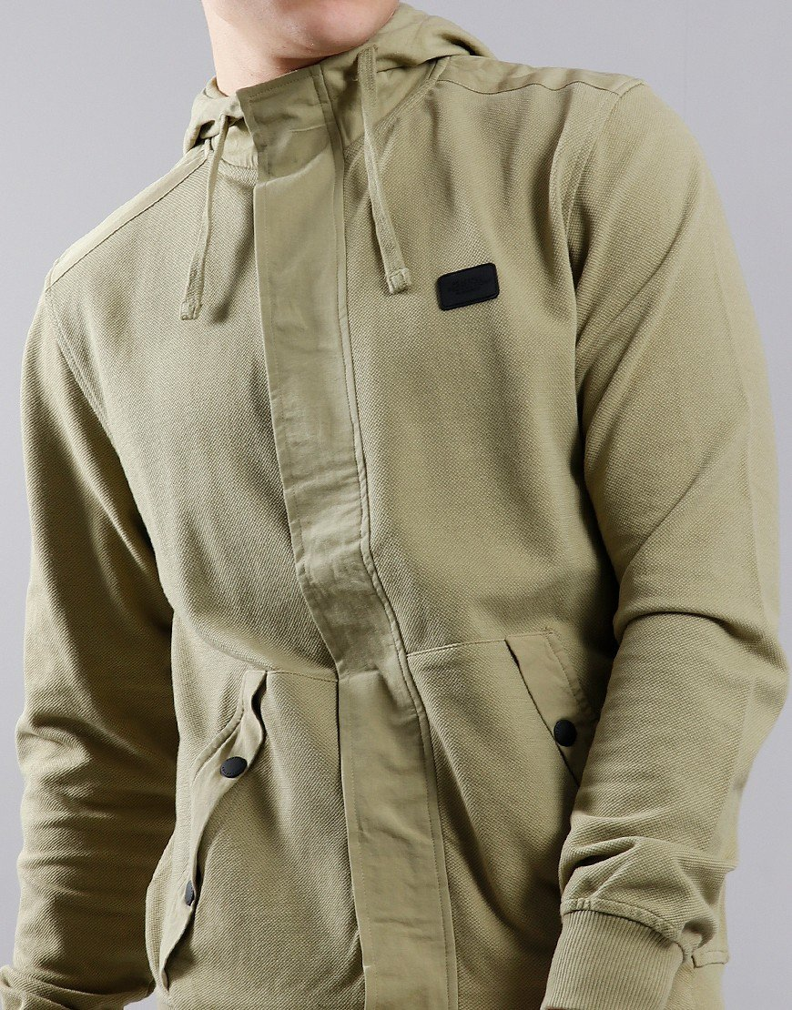 Peaceful Production Placket Sweat Boa