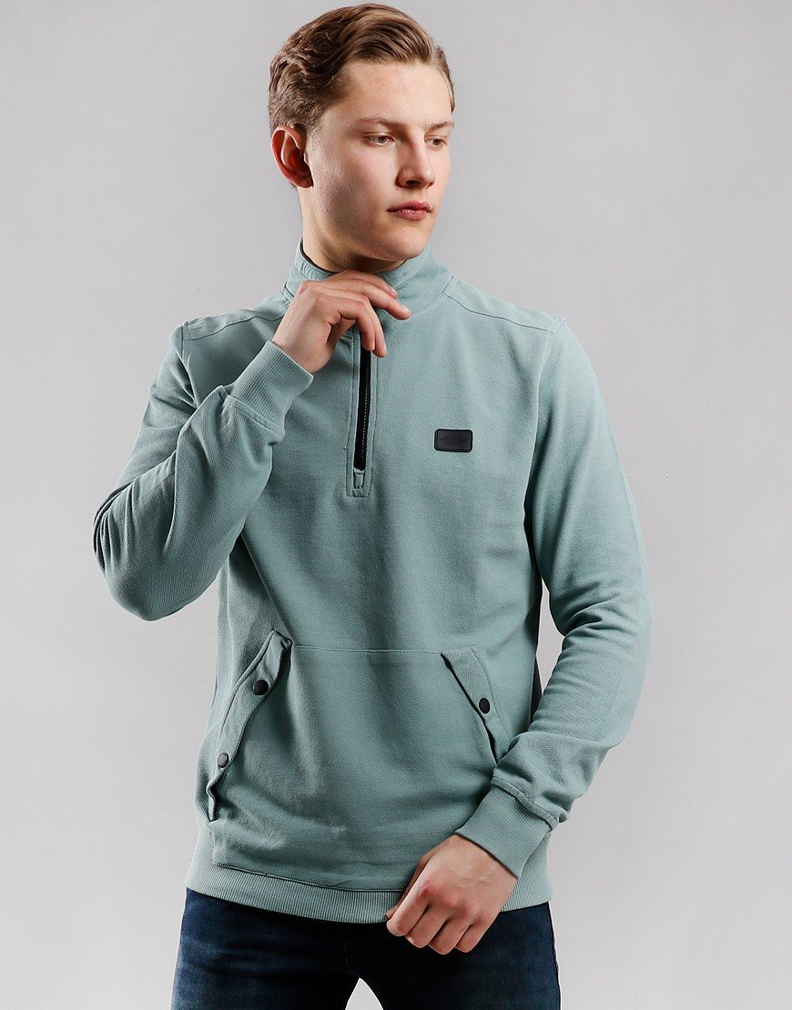 Peaceful Production Quarter Zip Sweat Chinois