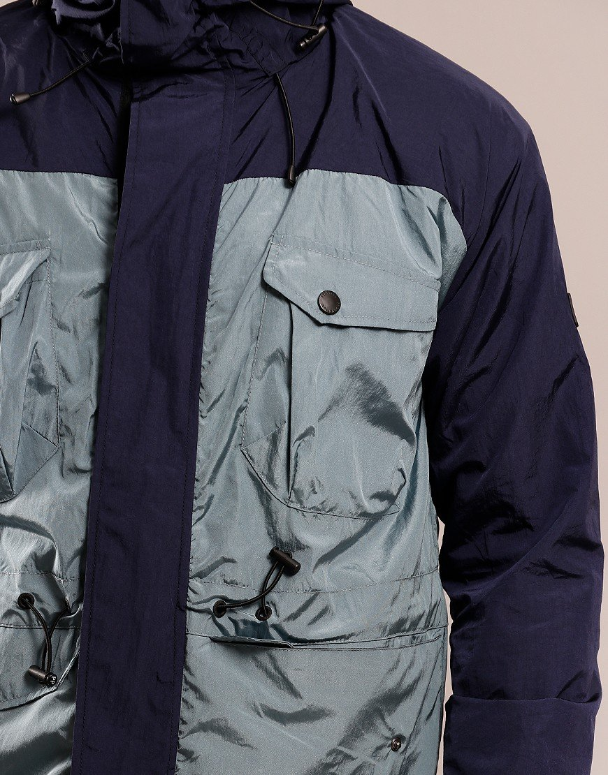 Peaceful Production Outdoor Jacket Aqua