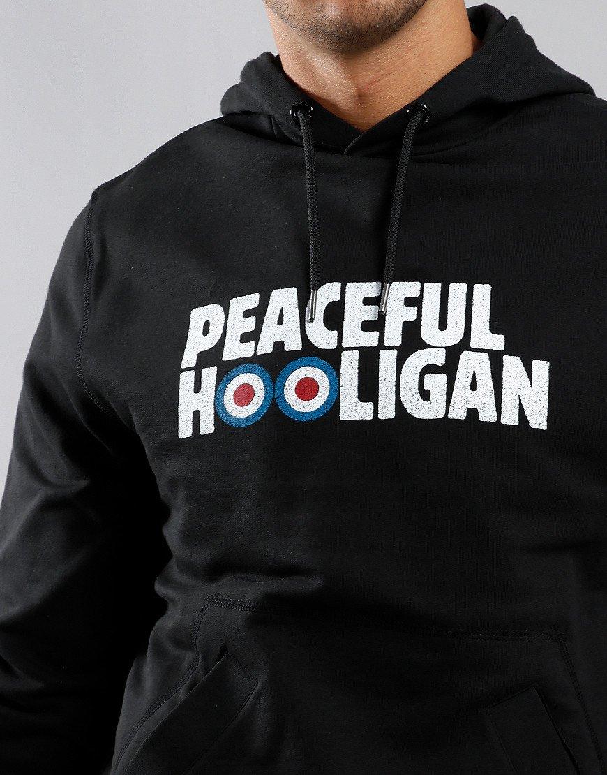 Peaceful Hooligan Target Hoodie Black