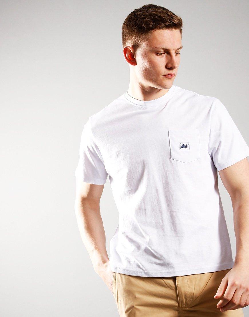 Peaceful Hooligan Slate T-Shirt White