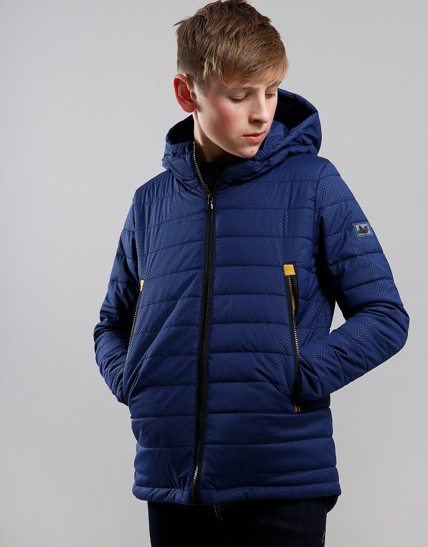 Peaceful Hooligan Junior Outback Jacket Navy