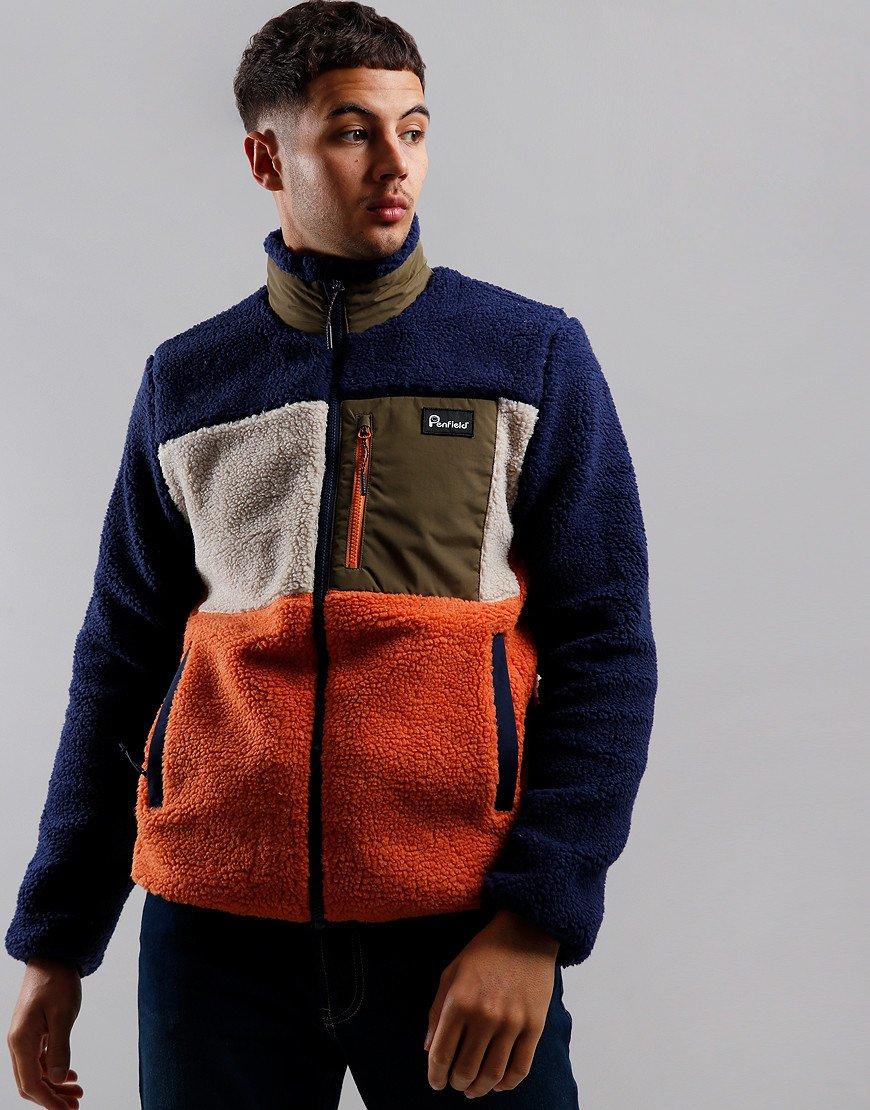 Penfield Mattawa Fleece Jacket Outdoor Orange