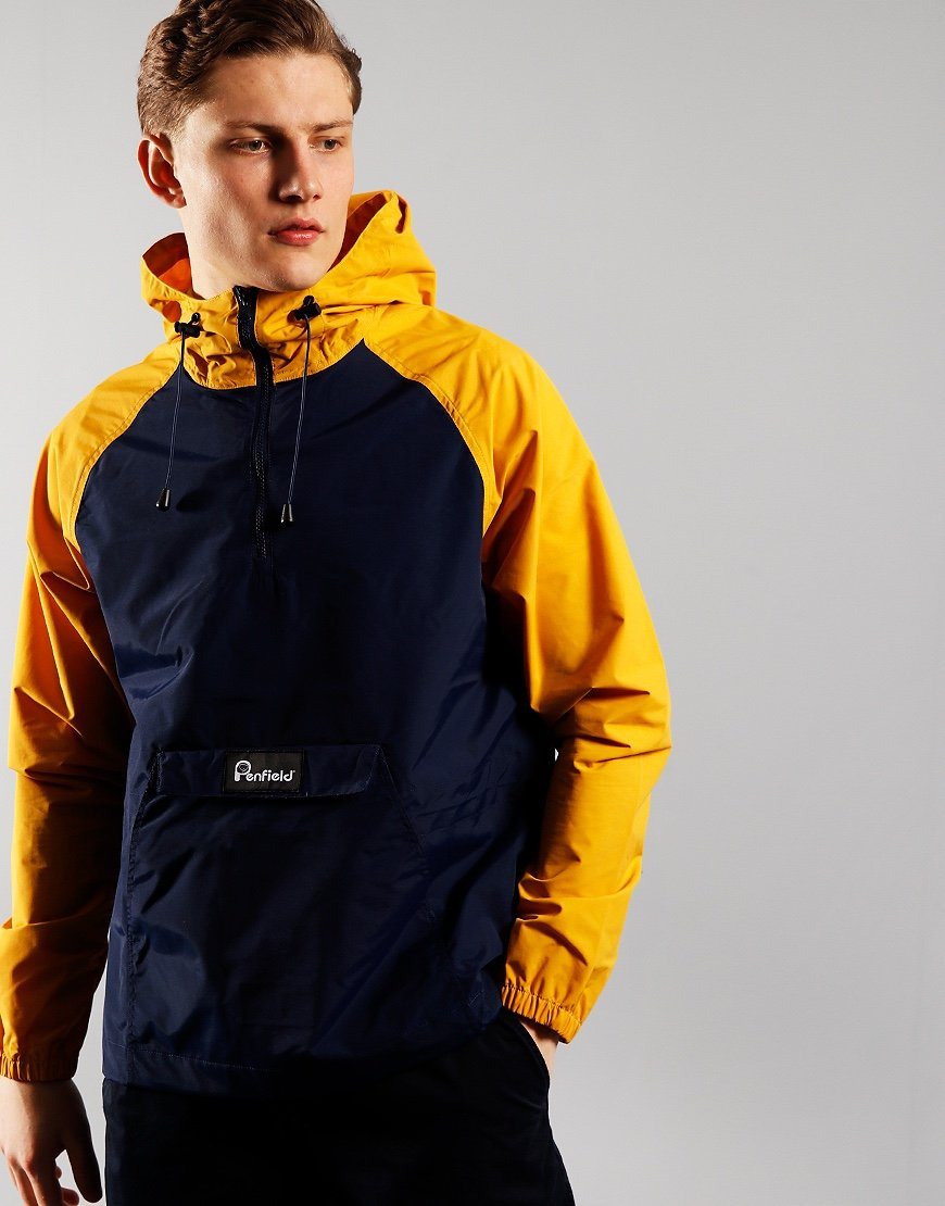 Penfield Pac Jac Yellow Cagoule Mineral Yellow