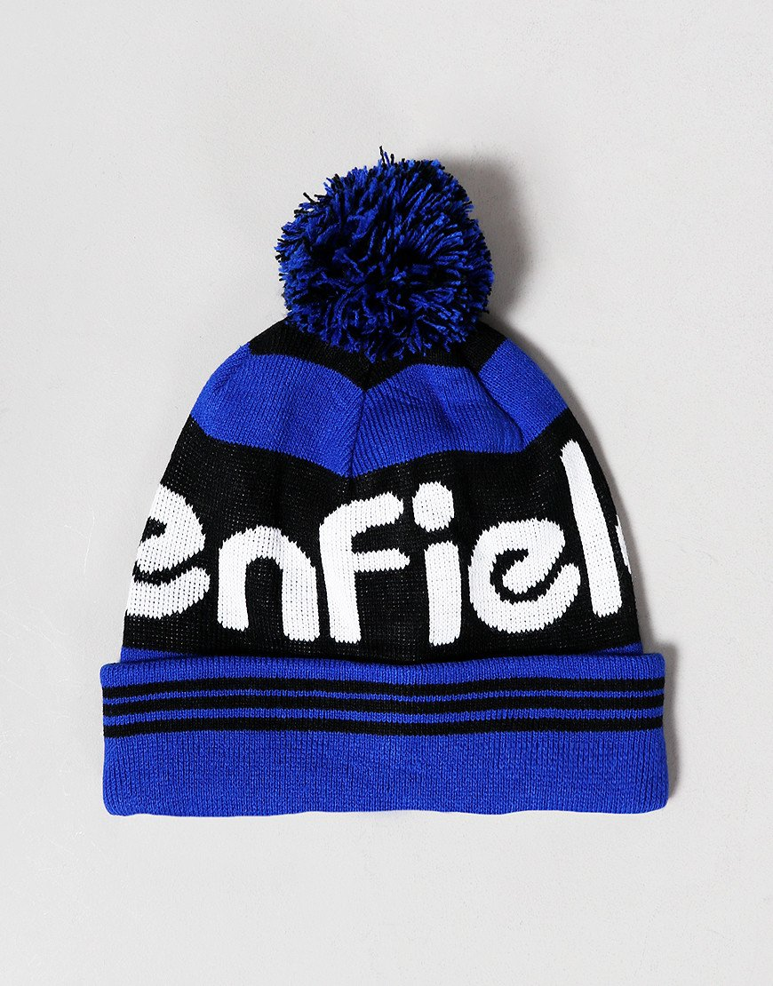 Penfield Sandford Knitted Hat Black/Blue