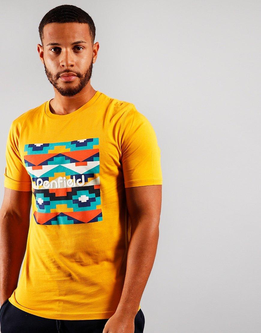 Penfield Sandtoft  T-shirt Yellow