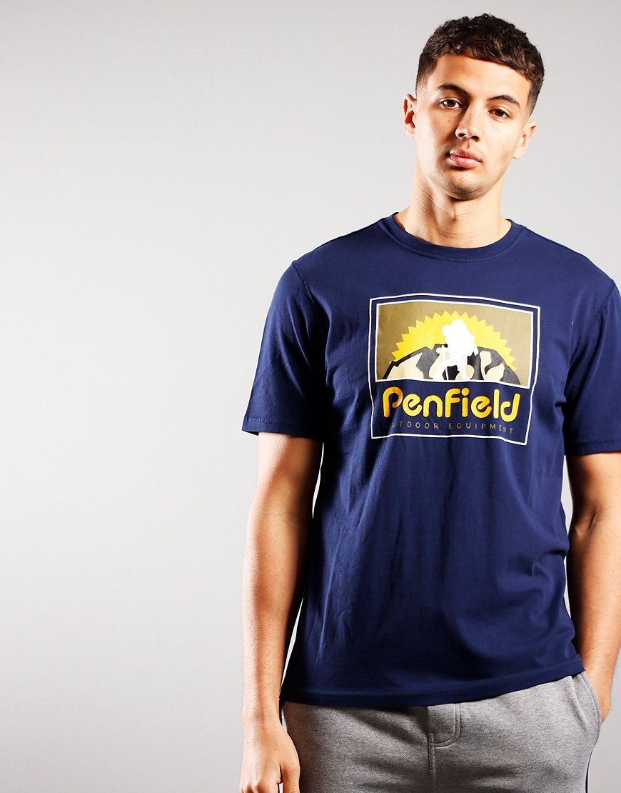 Penfield Summit T-Shirt Navy
