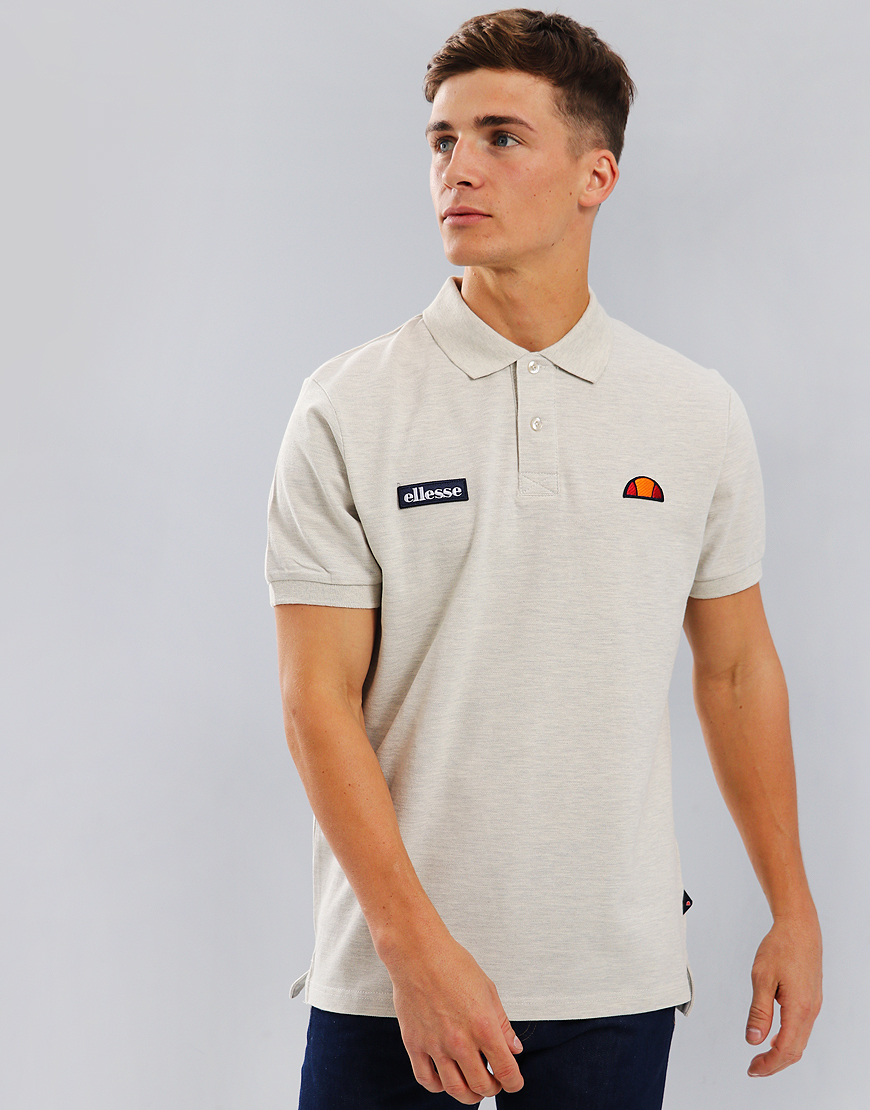 Ellesse Perugia 59 Polo Shirt Oatmeal