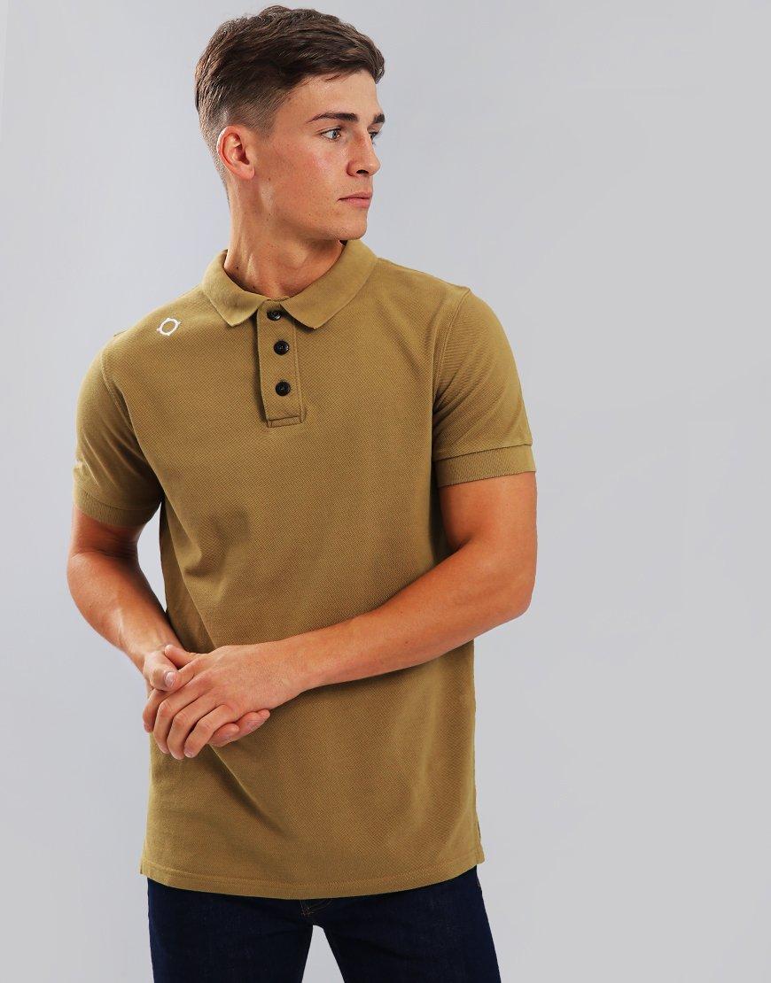MA.Strum Pique Polo Shirt British Khaki