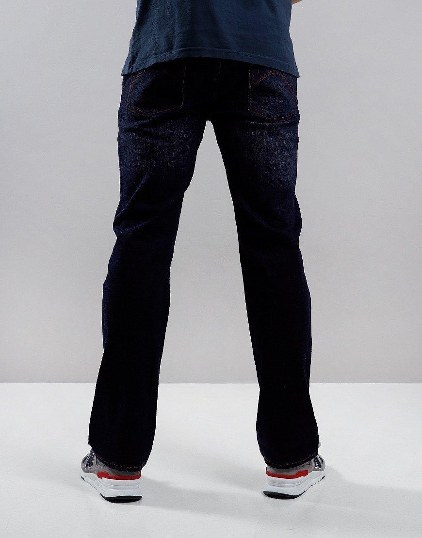 Pretty Green Burnage Regular Fit Jeans Rinse Wash