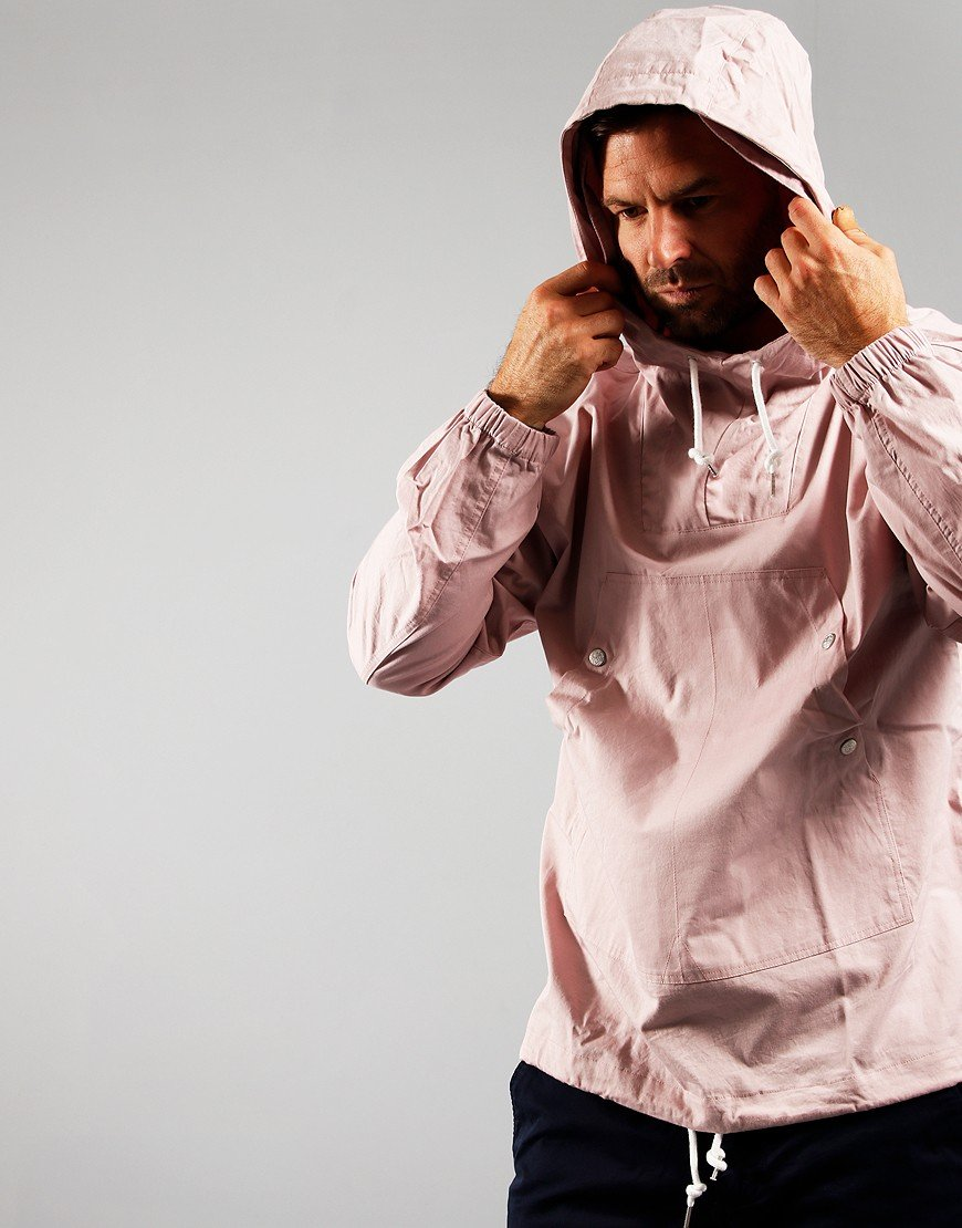 Pretty Green Cotton OH Jacket Pink