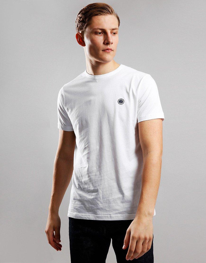 Pretty Green Cotton Logo T-Shirt White