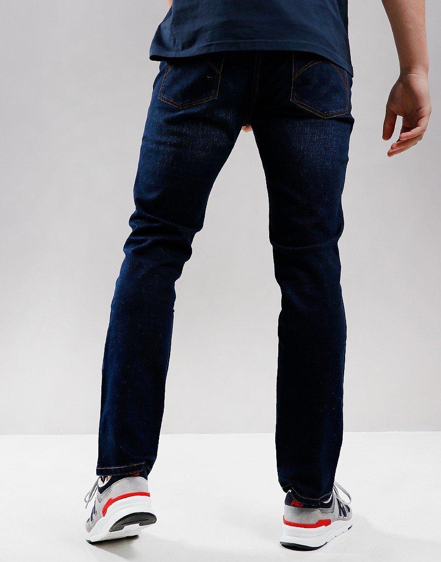Pretty Green Erwood Slim Fit Jeans 6 Month Wash