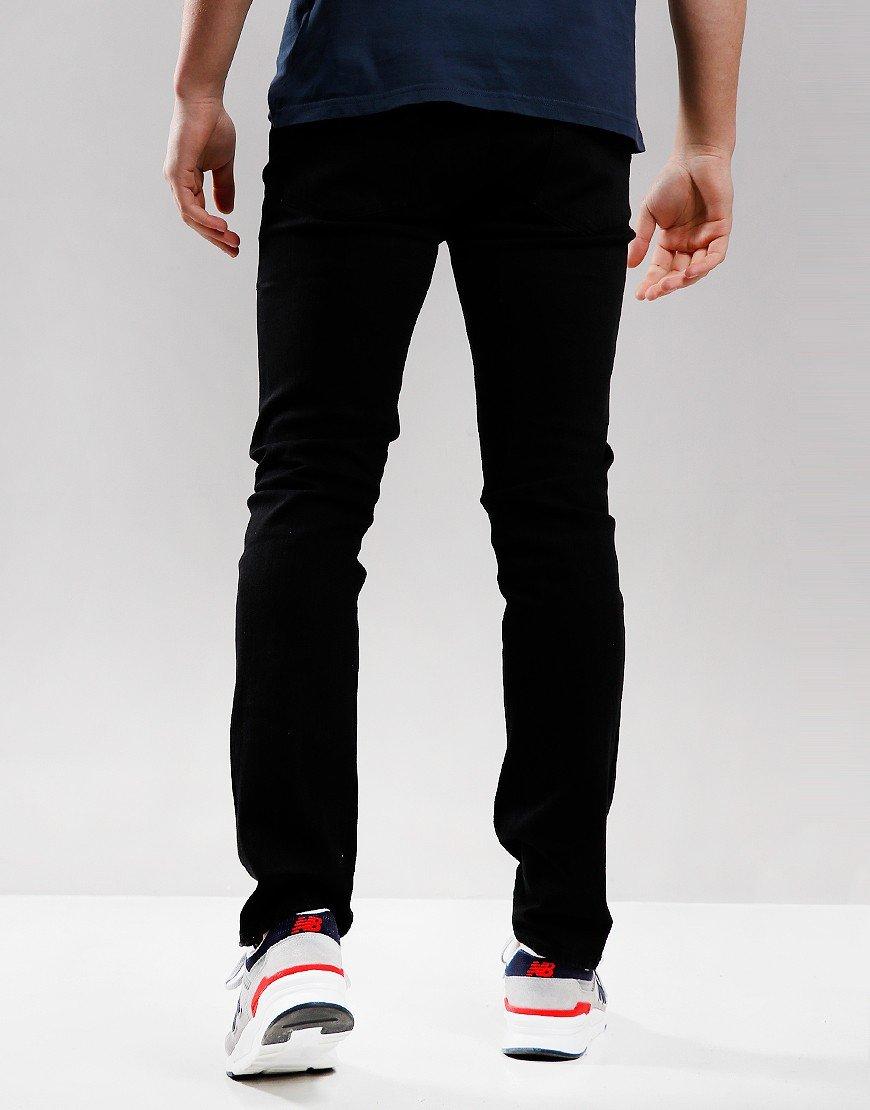 Pretty Green Erwood Slim Fit Jeans Black