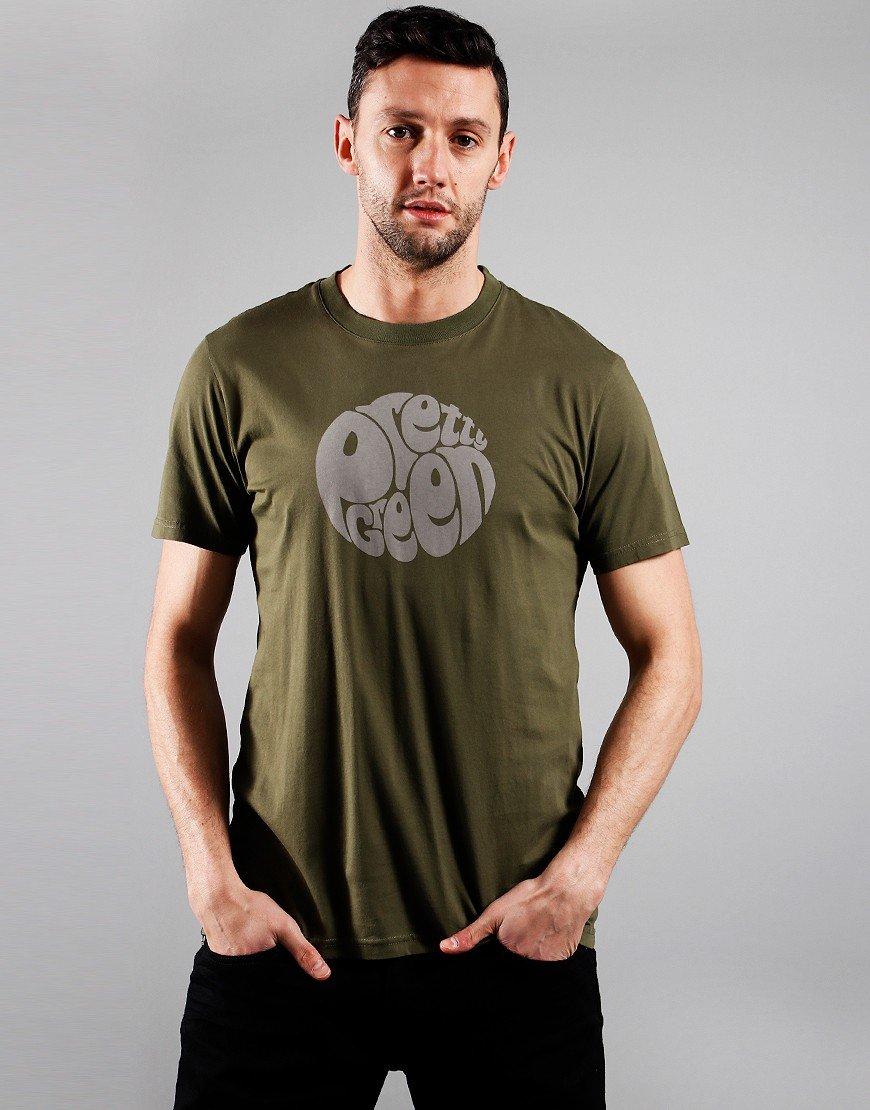 Pretty Green Gillespie T-Shirt Khaki