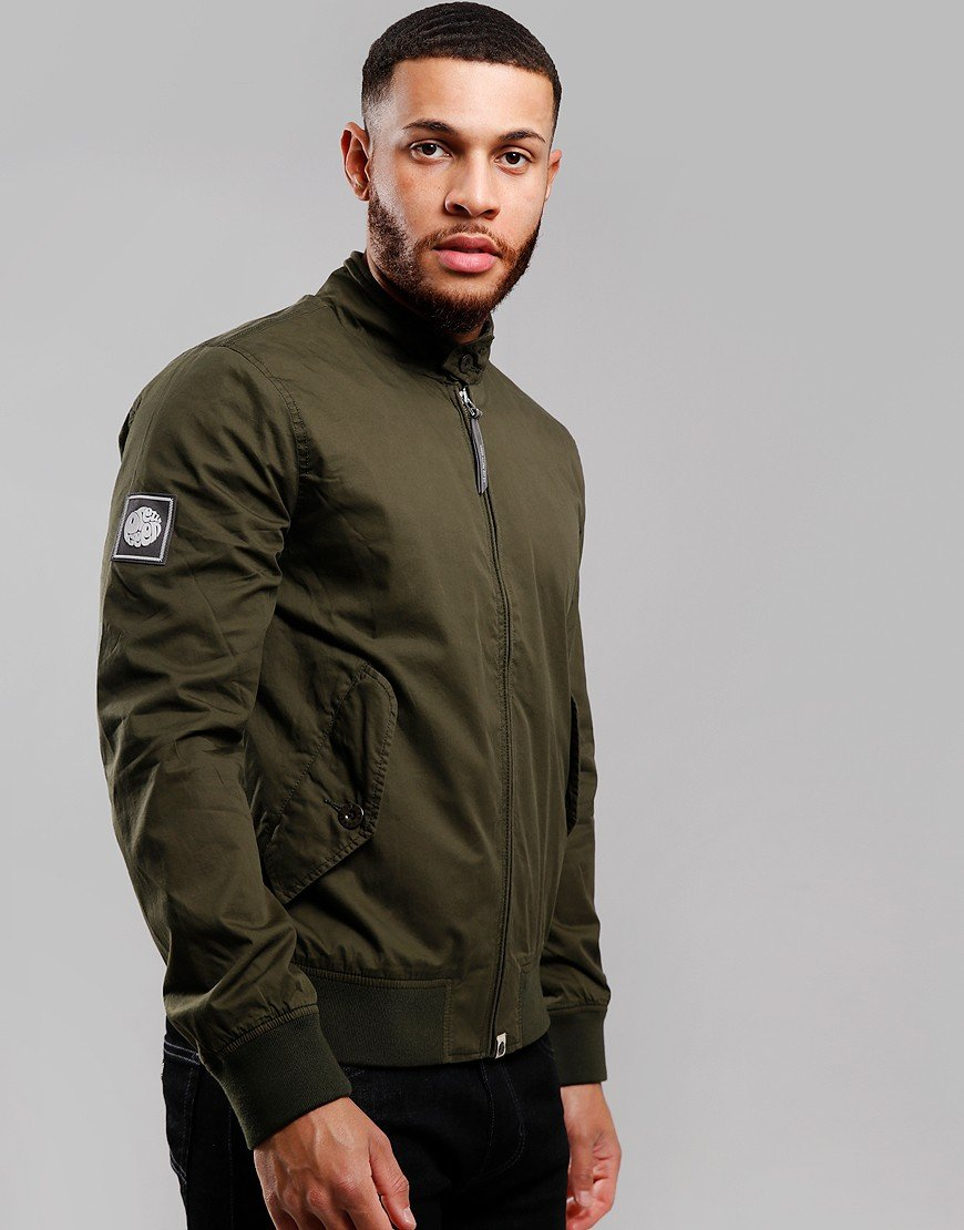 Pretty Green Harrington Jacket Green