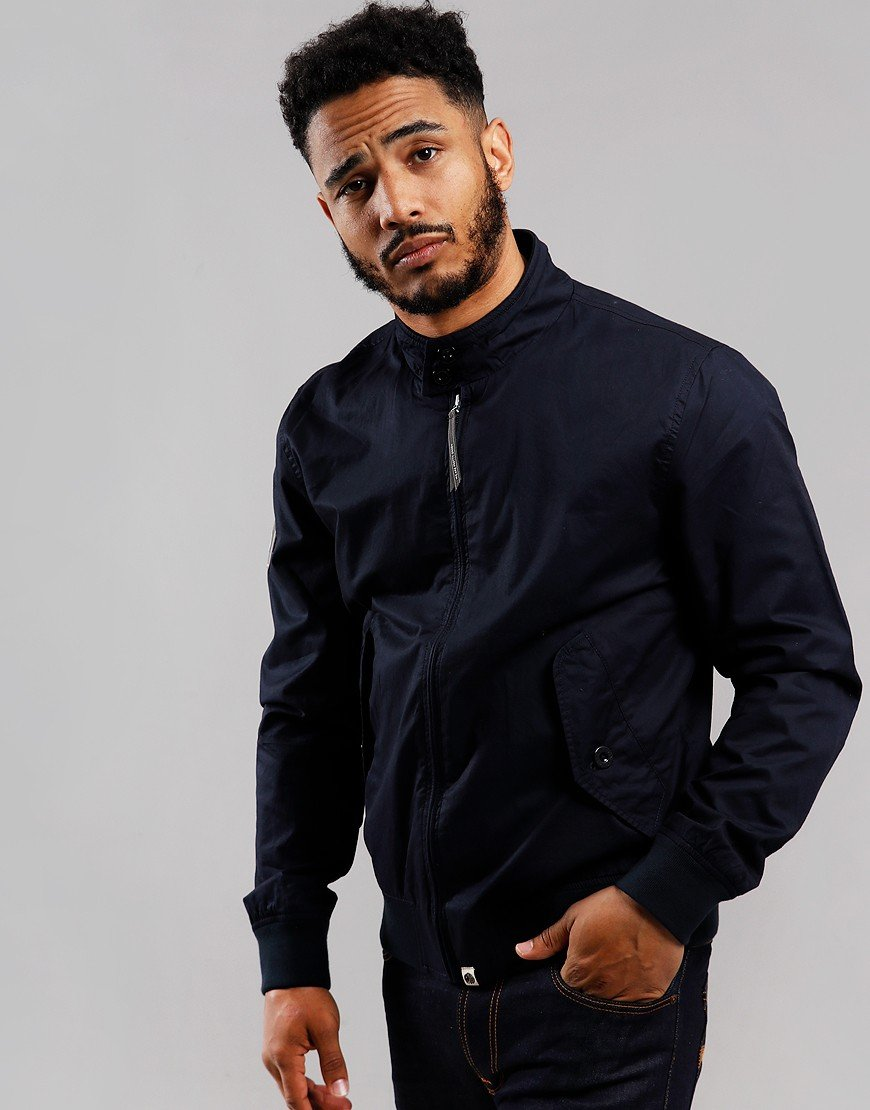 Pretty Green Harrington Jacket Navy