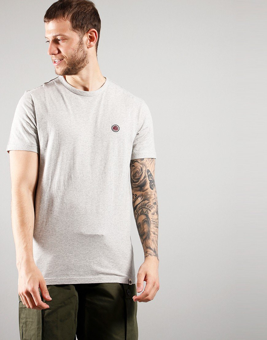 Pretty Green Mitchell T-shirt Grey Marl