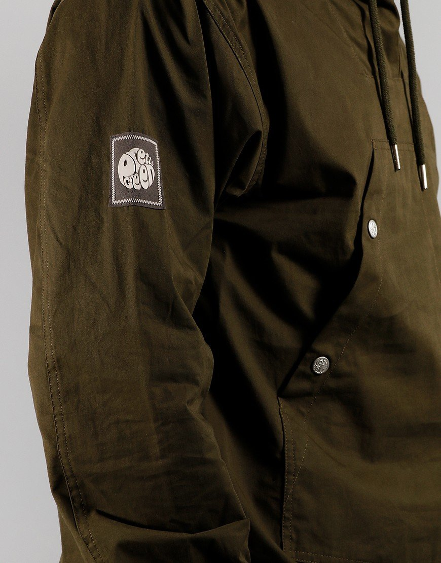 Pretty Green OH Jacket Forest Green
