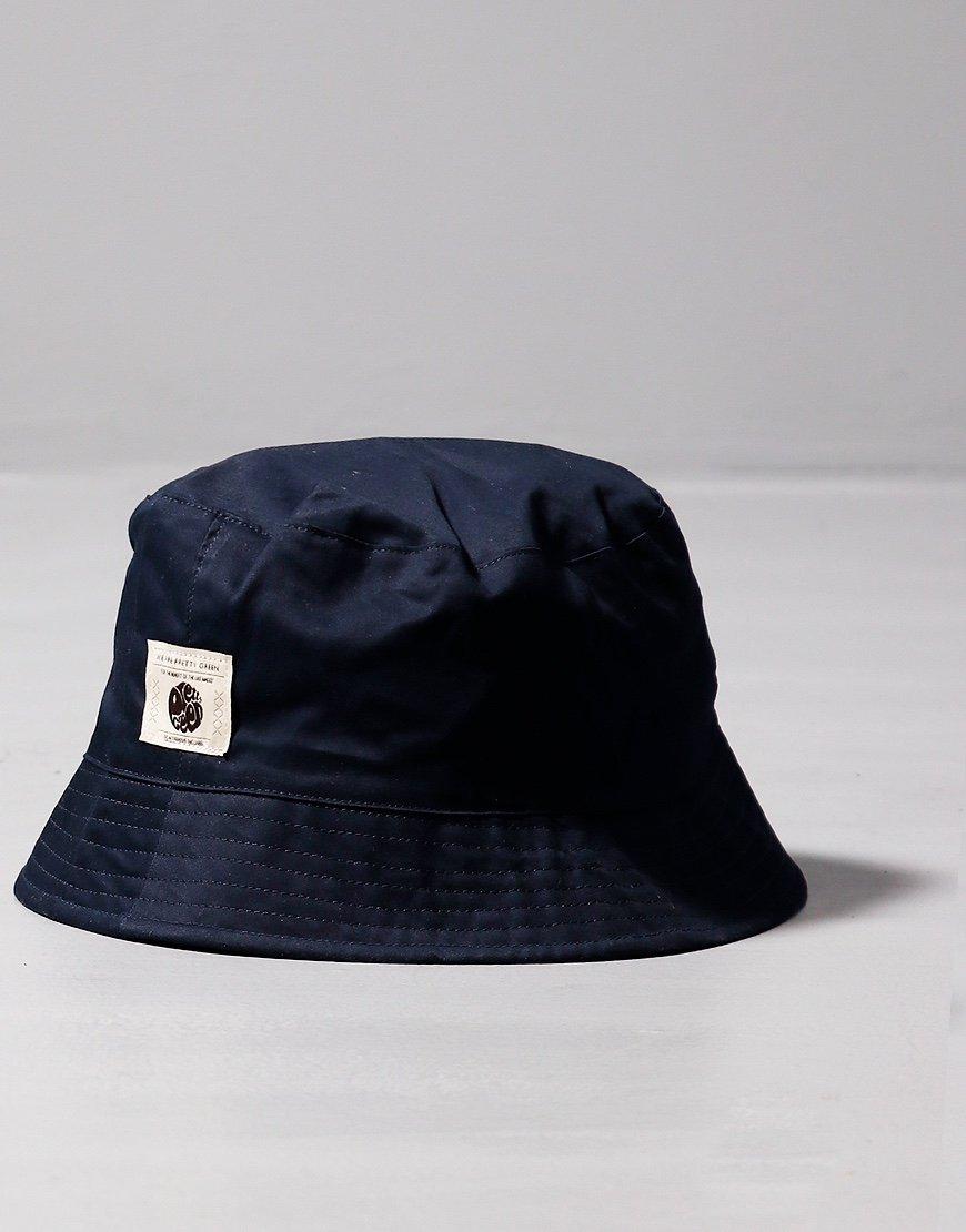 Pretty Green Reversible Paisley Bucket Hat Navy