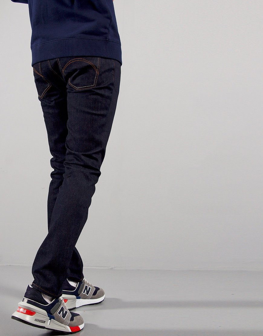 Pretty Green Skinny Fit Jeans Rinse Wash