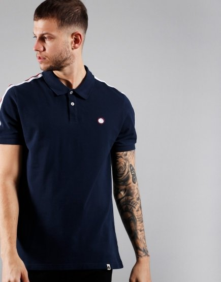 Pretty Green Tilby Polo Shirt Navy