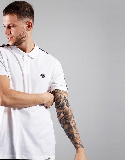 Pretty Green Tilby Polo White