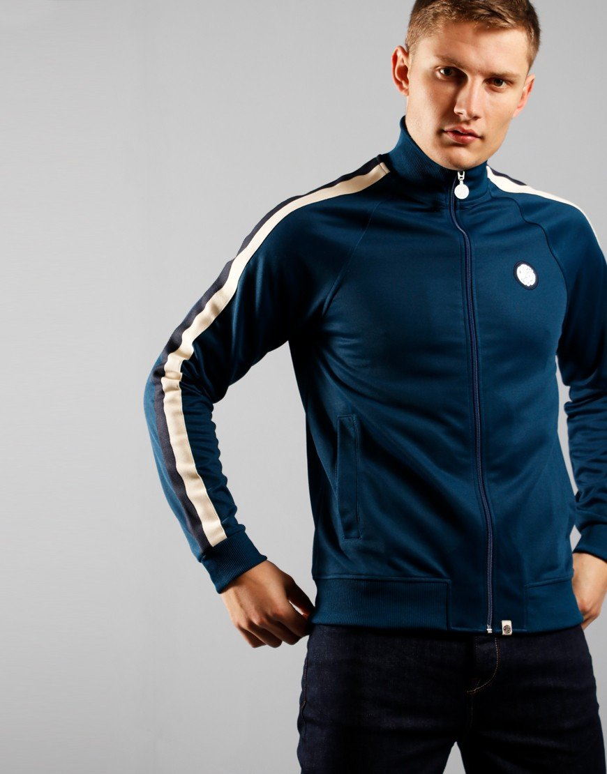 Pretty Green Tilby Track Top Blue