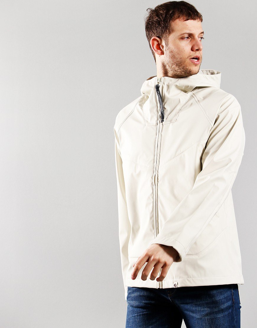 Pretty Green Water Resistant Ridley Jacket White