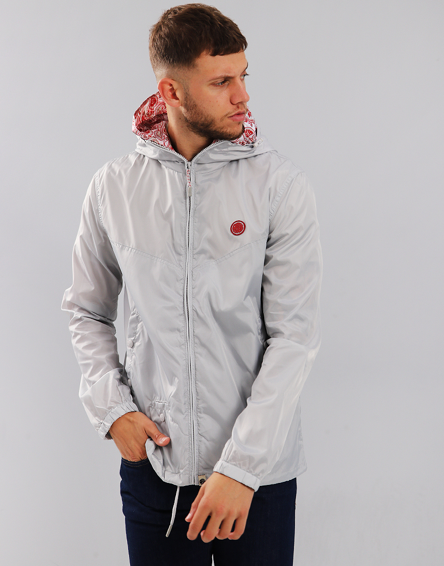 Pretty Green Darley Jacket Light Grey