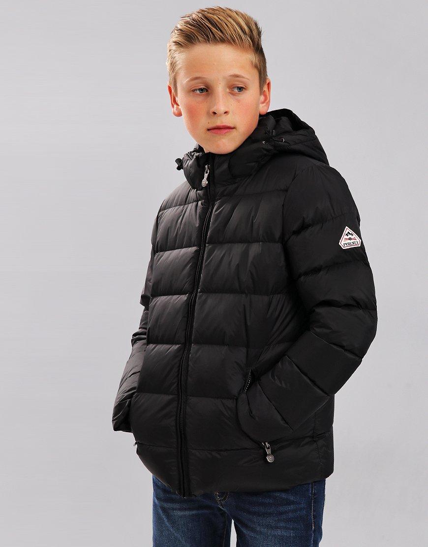 Pyrenex Kids Spoutnic Hooded Coat Black