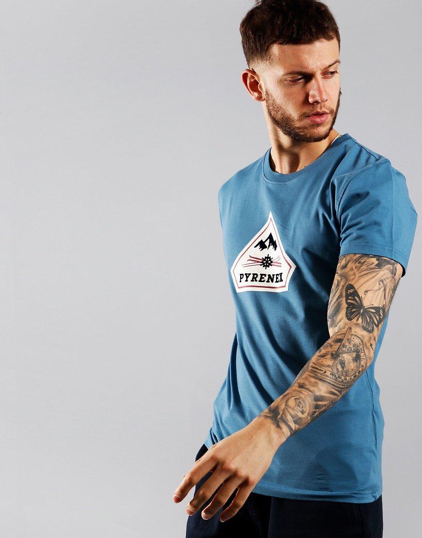 Pyrenex  Karel T-Shirt Cobalt